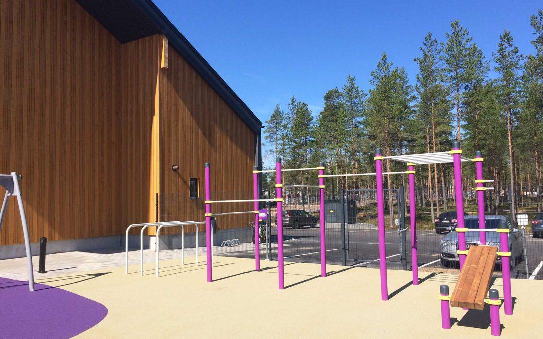 Super Park Kalajoki sai ulkotelineet